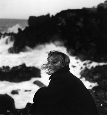 Ingrid Bergman + The Sea.